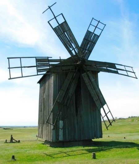 Ветряная мельница Гагаузия
